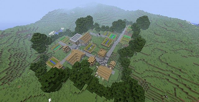 Village Fortress Minecraft Project