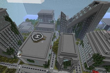 minecraft destroyed city map download » Path Decorations Pictures ...