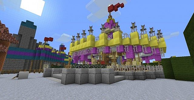Actual 11 WDW Build Minecraft Project