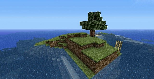 Small Survival Island Seed 144 Minecraft Project