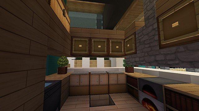 Minecraft Modern Kitchen Designs Artisan