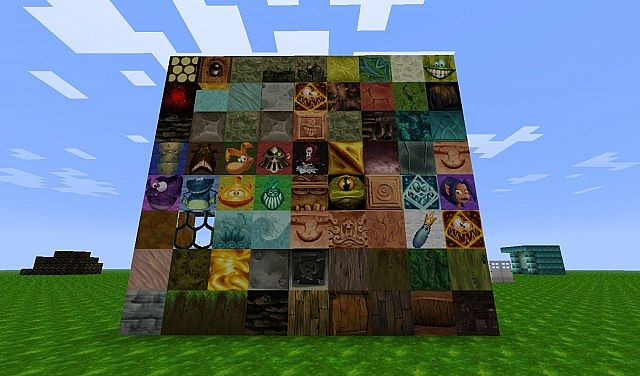 145 Rayman 2 Texture Pack Minecraft Project