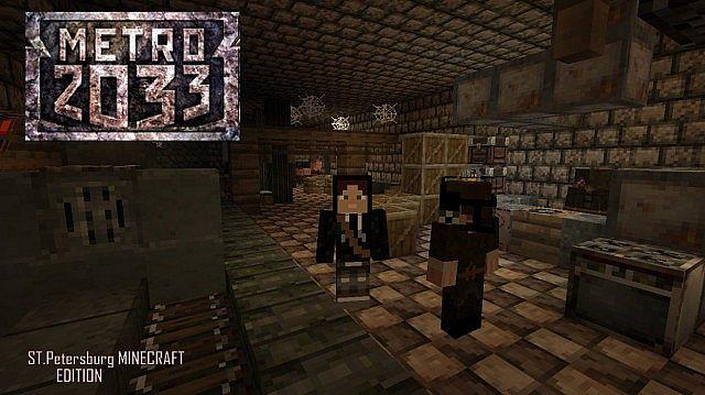 Metro 2033 STPetersburg Freeplaymap Minecraft Project
