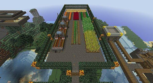 Minecraft Skybase Minecraft Project