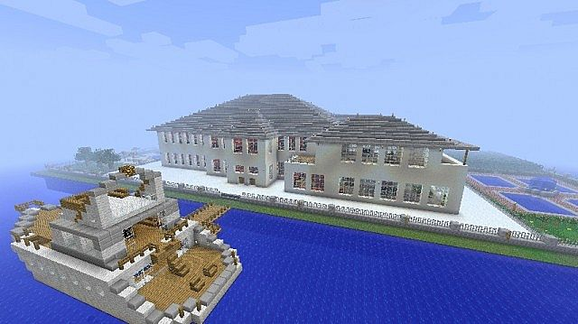 Scarface Mansion Minecraft Project