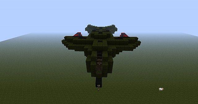 Nathgou11s Halo Pelican Minecraft Project