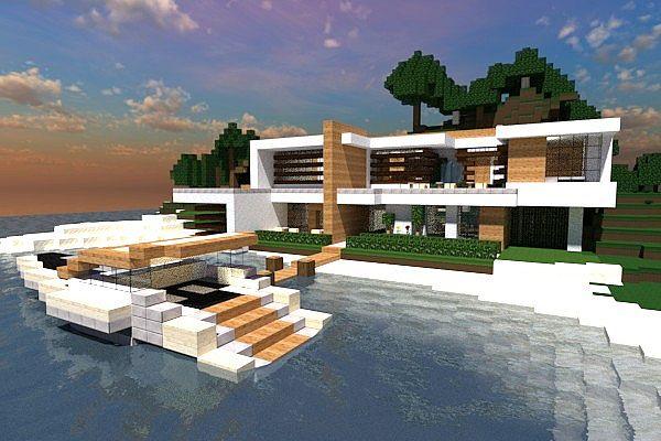 Modern Island Home [Contemp Inc.] Minecraft Project