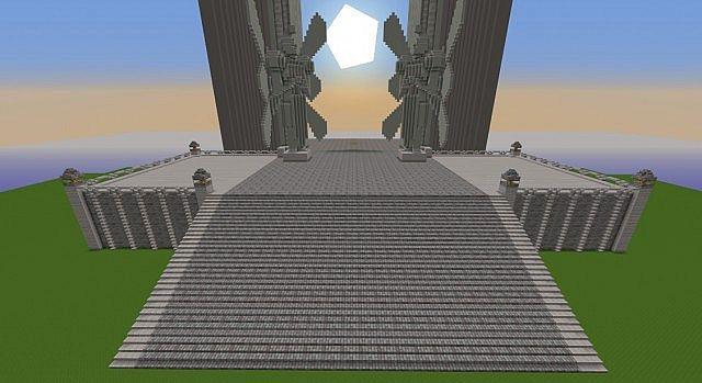 Sword Art Online World Tree Minecraft Project