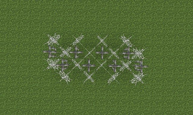 PvP Barbed Wire Minecraft Project