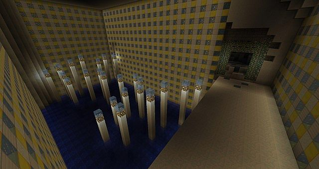 Ice Dungeon MCEdit Schematic Download Minecraft Project