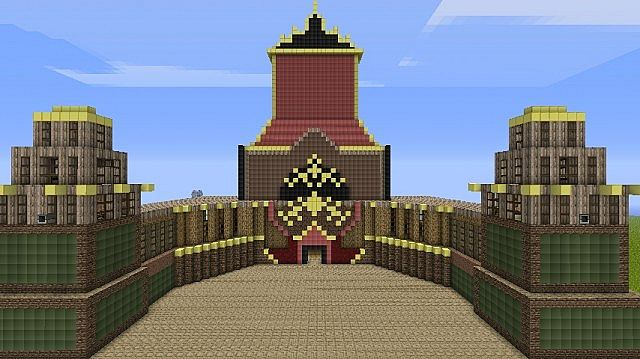 Avatar Fire Nation Palace Minecraft Project