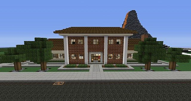 Colonial House Furnished Minecraft Project