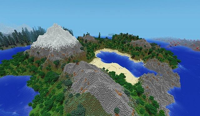 Eminent Islands Nature Only OLD 177 Minecraft Project