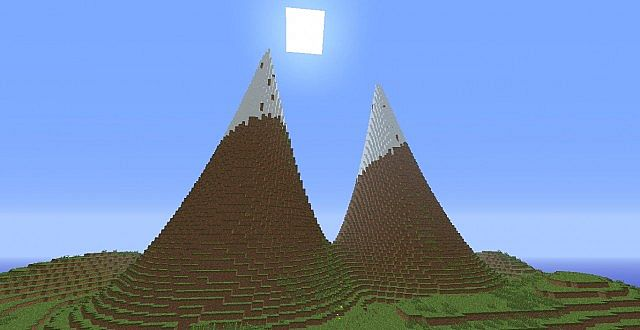 Customized Terrain Mount Everest With Survival Seed