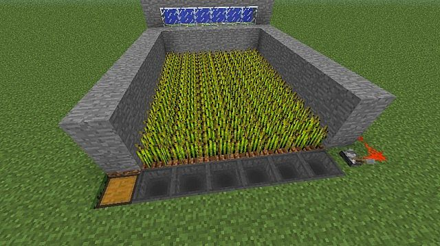 Hopper Redstone Farm Minecraft Project