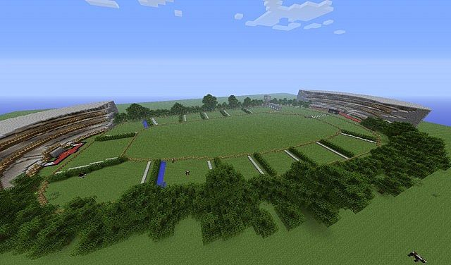 The Mine National Horse Racing Map 13w16a Minecraft