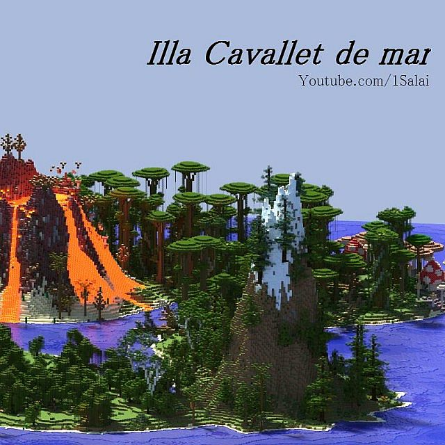 SEAHORSE ISLE World Download Minecraft Project