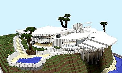 Tony Stark Iron Man House Final Version Minecraft Project