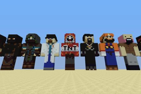 Pictures Of Minecraft Youtubers Skins Path Decorations Pictures - Skin para minecraft pe ios