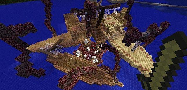 Minecraft Kraken Boss Fight