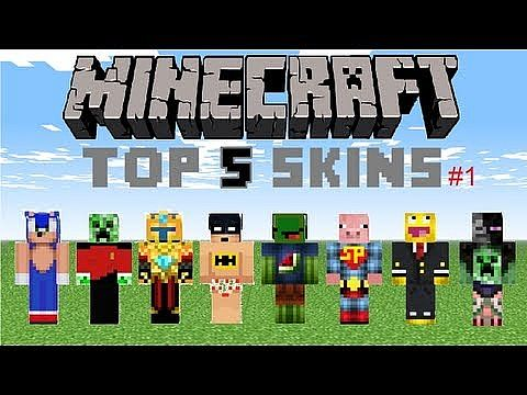 Top 5 Minecraft Skins Minecraft Blog