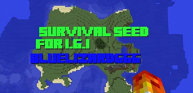 161 Survival Island Seed Minecraft Project