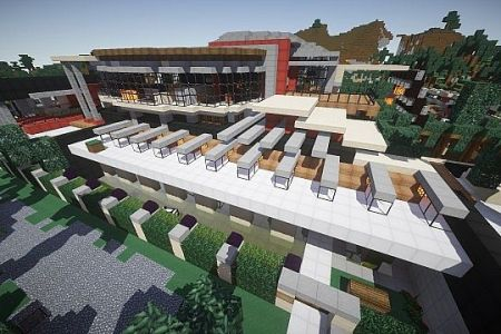 Best Minecraft Awesome Mansion Map Download Image Collection - Minecraft coole hauser maps