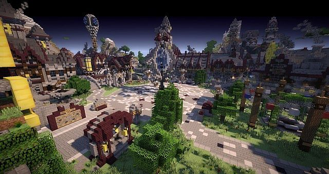 Varrock A Medieval Steampunk Dvarven City Minecraft