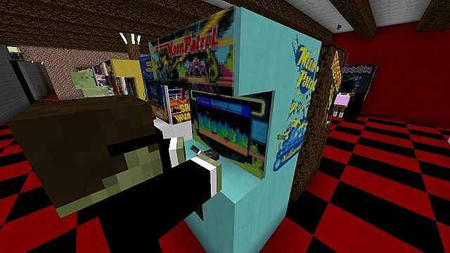 Minecraft Arcade Minecraft Project