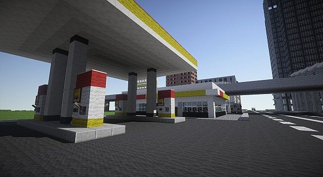 Shell Station Minecraft Project