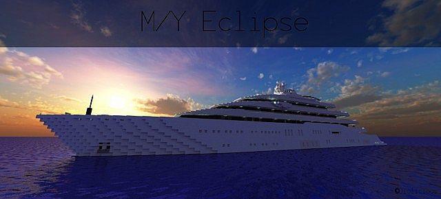 MY Eclipse SuperYacht Minecraft Project