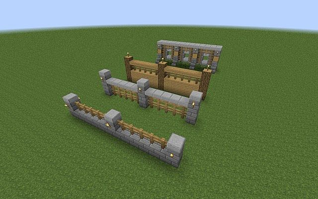 Simple Minecraft Wooden Wall Designs Novocom Top