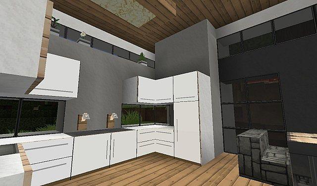home design interior singapore: Minecraft Modern Kitchen