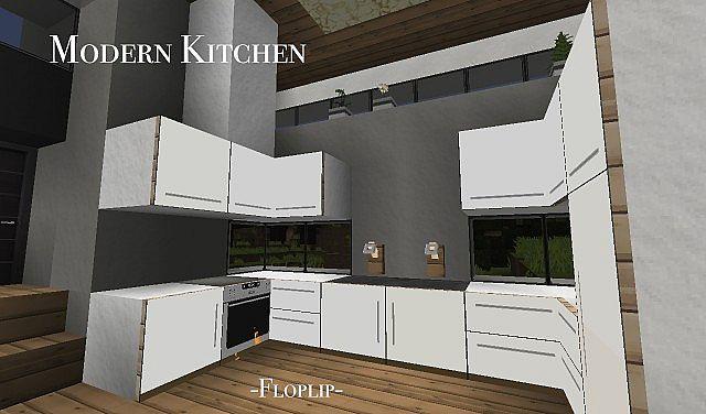Modern Kitchen Using Item Frames