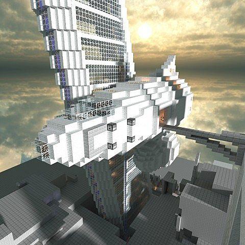 Spaceship 01 Inspiration Class Minecraft Project