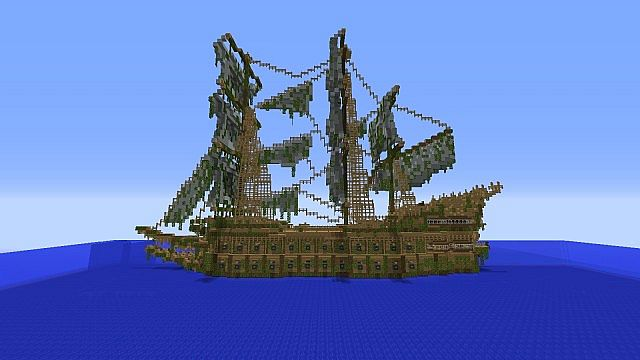 Minecraft Flying Dutchman UPDATE Minecraft Project