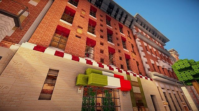 Italian Restaurant Ristorante Italiano WoK Minecraft
