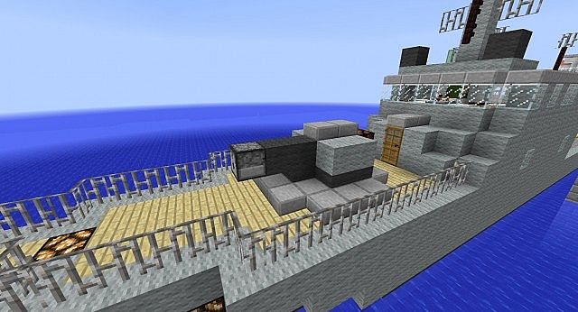 Military Frigate Minecraft Project