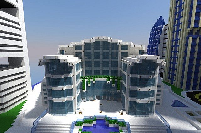Hong Kong Convention Center Minecraft Project