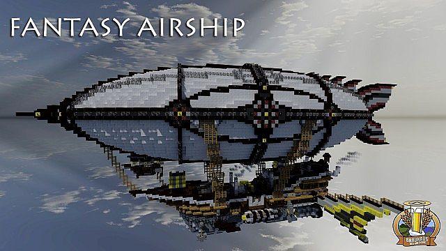 BdH Timeline Map 8 Fantasy Airship DOWNLOAD Minecraft
