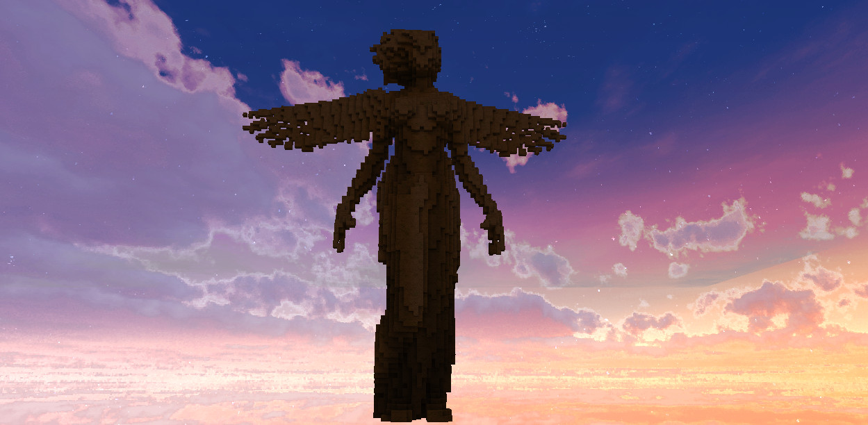 Angel MCEdit Schematic Minecraft Project