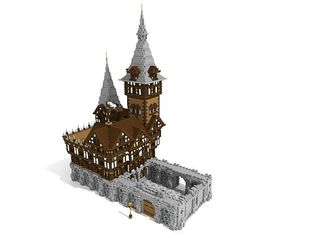 Cocoa Castle Schematic Included Minecraft Map