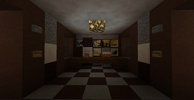 My Five Nights At Freddys Map Minecraft Project