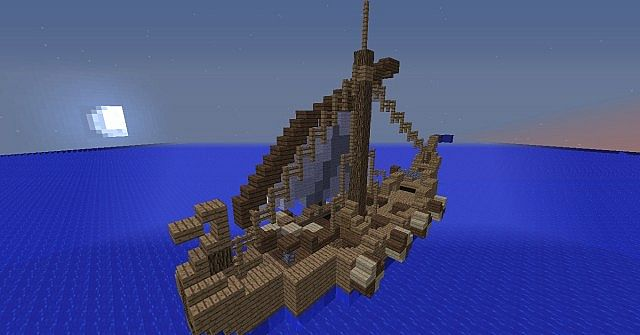 The Heron Ship Brotherband Minecraft Project
