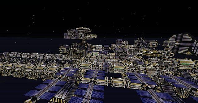 Araknie Giant Space Stationspaceship Almost 2000 Blocks