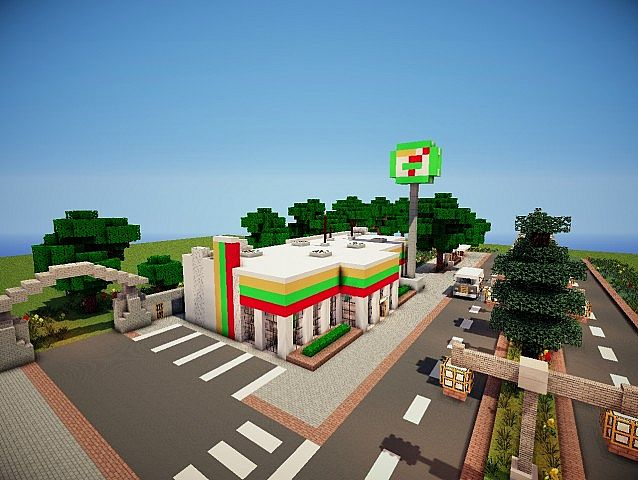 Seven Eleven Minecraft Project