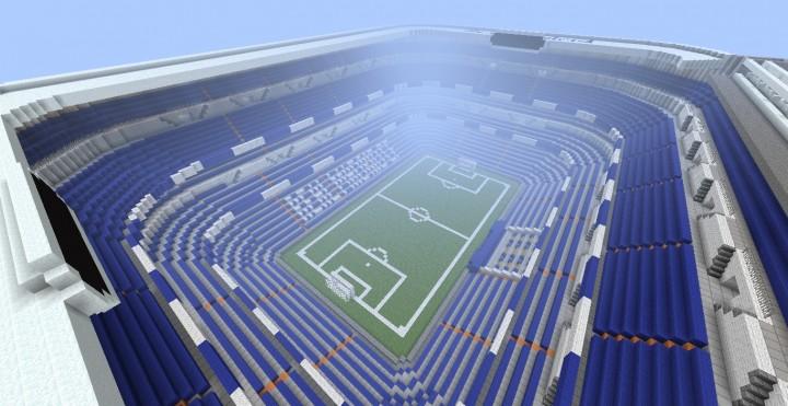 Santiago Bernabeu Stadium - Real Madrid Minecraft Project