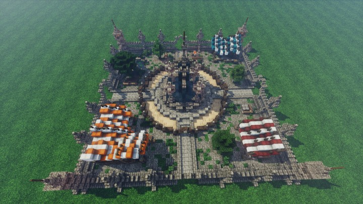 Medieval Mondays 5 Marketplace Minecraft Project