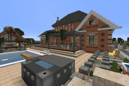 Map House Minecraft Free Wallpaper For MAPS Full Maps - Minecraft house map download