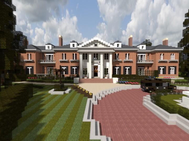 Georgian Mansion ECS Minecraft Project
